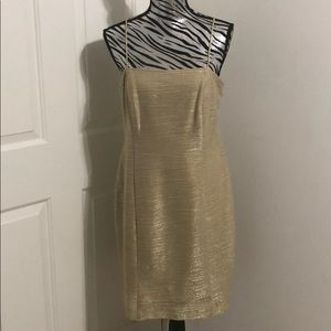 Gold Cocktail dress NWT